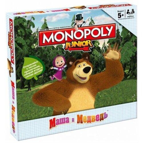 Купить Настольная игра Hasbro Игры Monopoly Моя первая монополия. Маша и медведь, Настольные игры