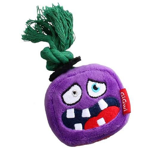 Игрушка для собак GiGwi Monster Rope Монстр с веревкой (75433) фиолетовый