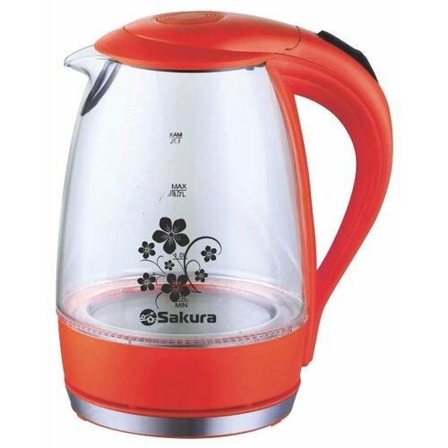 Чайник Sakura SA-2710R, красный