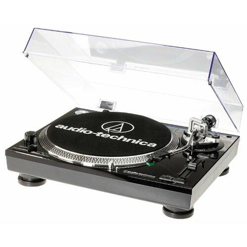 Виниловый проигрыватель Audio-Technica AT-LP120-USBHC черный