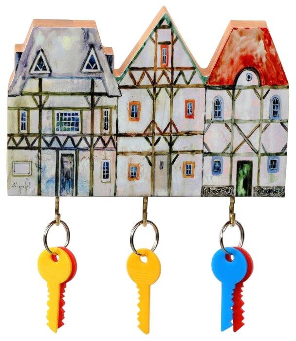 Ключница elf К11072, 19х13 см разноцветный