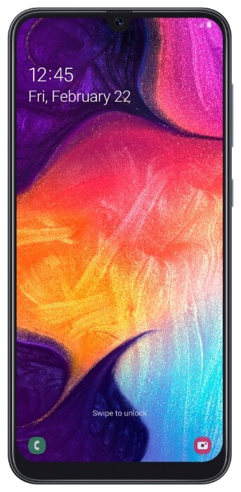 Смартфон Samsung Galaxy A50 (2019) SM-A505 64Gb белый