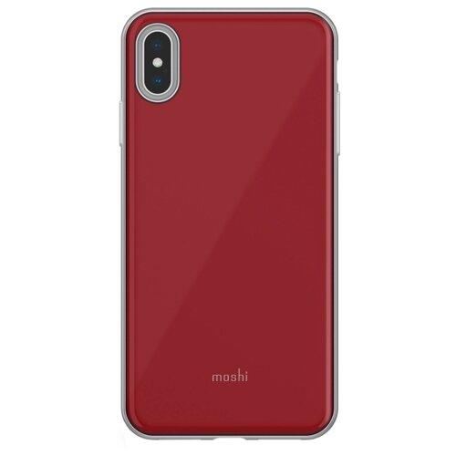 Купить Чехол Moshi iGlaze для Apple iPhone XS Max мерло красный
