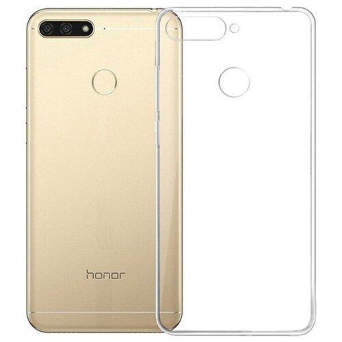 Чехол Gosso 178722 для Honor 7A Pro прозрачныйЧехлы<br>