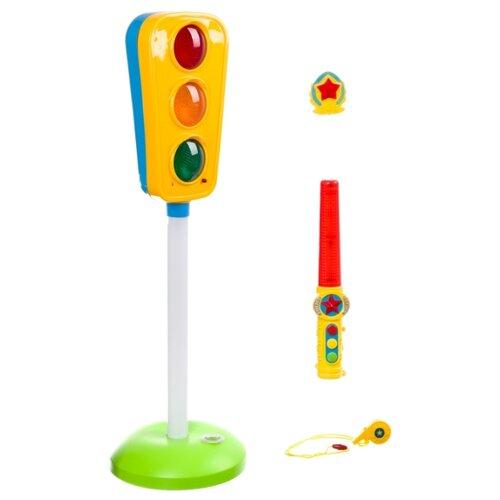 Купить Zhorya Потеша ZY746568 желтый/зеленый/голубой, Детские парковки и гаражи