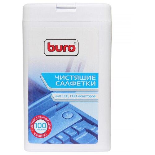 Buro BU-tft влажные салфетки 100 шт. для экрана  - купить со скидкой