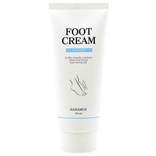 Nanamus Смягчающий крем для грубой и потрескавшейся кожи стоп Nanamus Foot Cream 100 мл туба