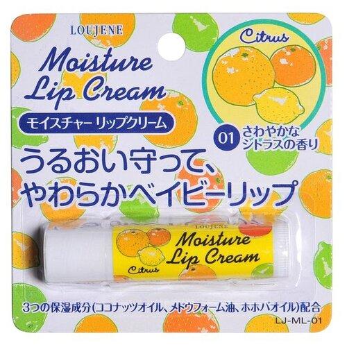 Loujene Увлажняющий бальзам для губ Citrus