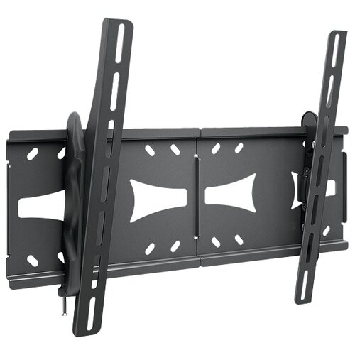 Фото - Кронштейн на стену Holder LCDS-5071 черный кронштейн для телевизоров holder lcds 5066 черный глянец
