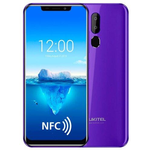 Смартфон OUKITEL C12 Plus фиолетовыйМобильные телефоны<br>