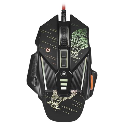 Мышь Defender sTarx GM-390L Black USB мышь defender witcher gm 990 black