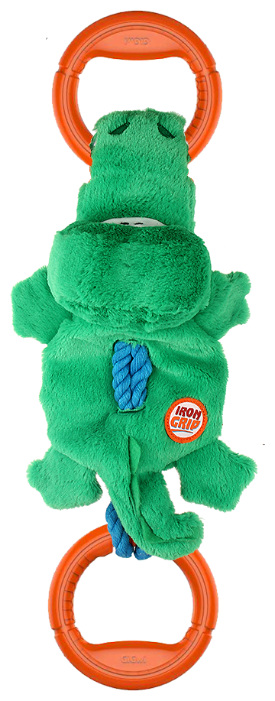 Канат для собак GiGwi Iron Grip Крокодил (75461)