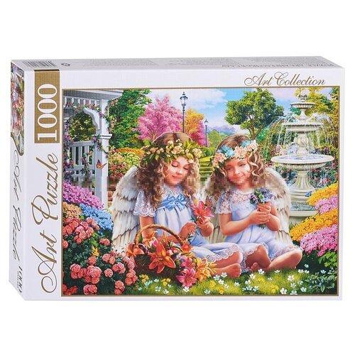 Пазл ART PUZZLE Два ангелочка в саду (ХАП1000-4453), 1000 дет. хворостухина с праздники в дет саду