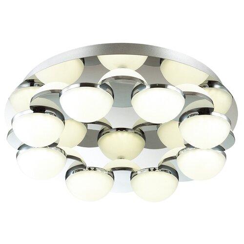 Светильник светодиодный Odeon light 4106/64CL, LED, 64 Вт светильник светодиодный odeon light piano ip20 led 46вт черный разноцветный