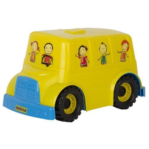 Автобус СТРОМ У444 29 см желтый