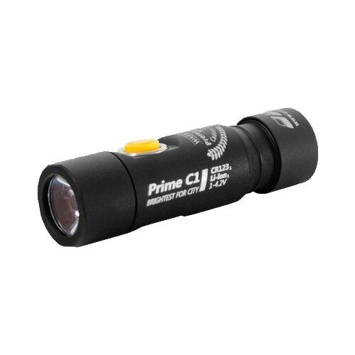 Ручной фонарь ArmyTek Prime C1 v3 XP-L (белый свет) черный