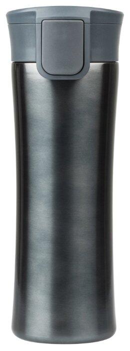 Купить Термокружка вакуумная герметичная Portobello, Baleo, 450 ml, покрытие металлик, антрацит по низкой цене с доставкой из Яндекс.Маркета (бывший Беру)