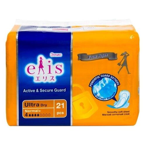 Elis прокладки Ultra Dry Normal + 21 шт. iron elis el 8807