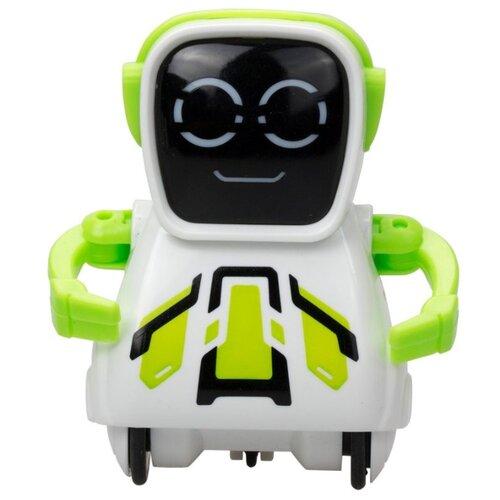 Купить Интерактивная игрушка робот Silverlit Pokibot Квадратный зеленый, Роботы и трансформеры