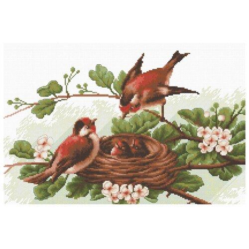 Фото - Luca-S Набор для вышивания Птички, 30.5 х 19 см, BM3005 набор для вышивания luca s b548 клёвое место