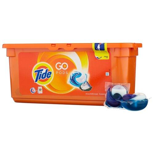 Капсулы Tide Альпийская свежесть, контейнер, 30 шт