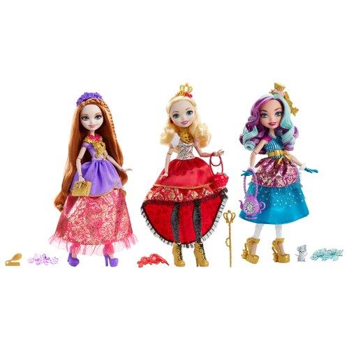 кукла mattel ever after high сказка наизнанку седар вуд cdm49 cdm51 Кукла Ever After High Отважные принцессы, 26 см, DVJ17