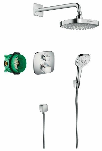 Верхний душ встраиваемый hansgrohe Croma Select E / Ecostat E 27294000 хром