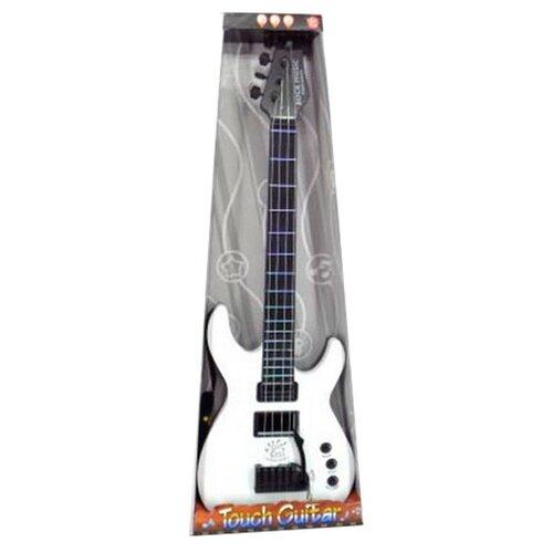 Junfa toys гитара 5599B-1 белый/черный junfa toys гитара 5599b 1 белый черный