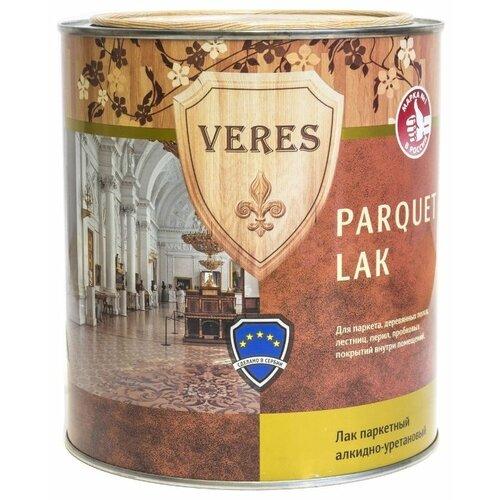 цена на Лак VERES Parquet Lak полуматовый алкидно-уретановый бесцветный 0.75 л