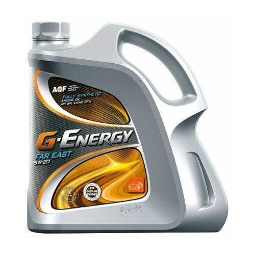 Синтетическое моторное масло G-Energy Far East 5W-20, 4 л по цене 1 773
