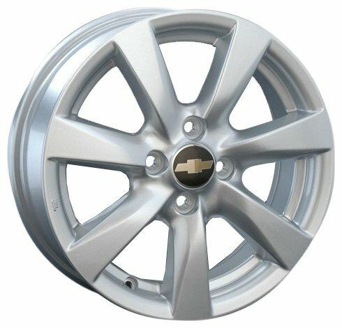 Колесный диск Replica GM45 6x15/5x105 D56.6 ET39 Silver — цены на Яндекс.Маркете