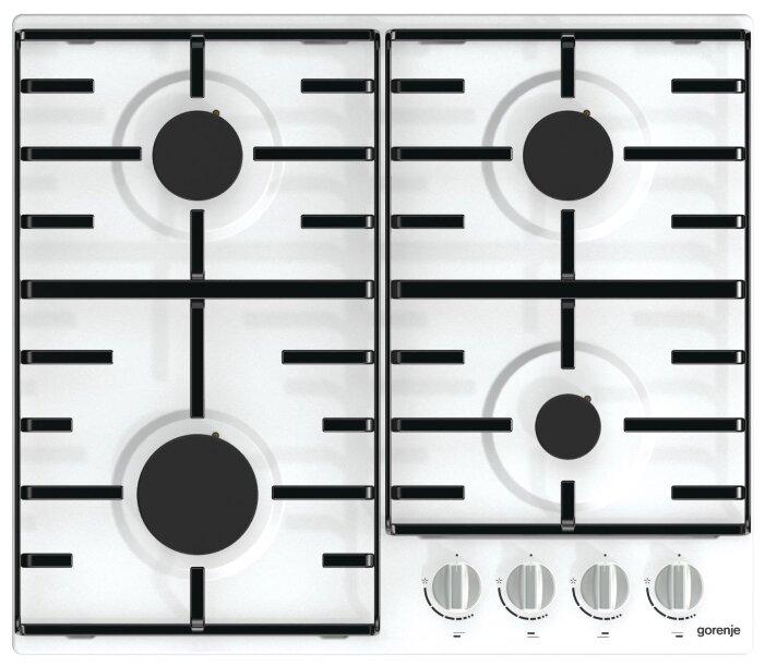 Варочная панель GORENJE G640W1, независимая, белый