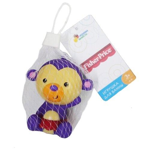 Купить Игрушка для ванной Играем вместе Обезьянка (ST7-3) фиолетовый, Игрушки для ванной