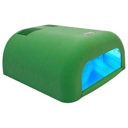 Купить Лампа UV planet nails 36W ASN Tunnel, 36 Вт велюр зеленая