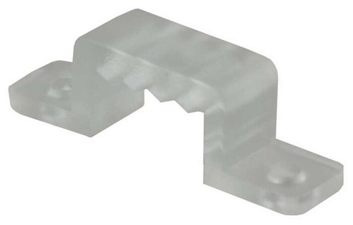 Аксессуары для ленты 220 В Neon-Night Монтажная клипса для LED ленты 220В, 7.5x20мм, 100шт. в упаковке, арт. 142-016-с