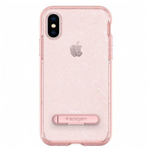 Чехол Spigen 057CS22150 для Apple iPhone X розовый кварц