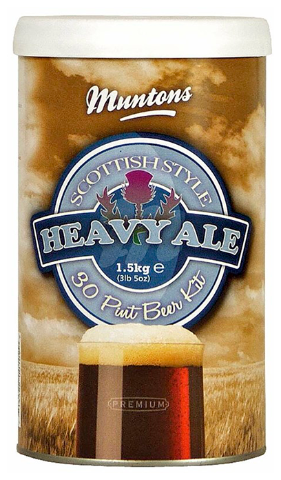 Солодовый экстракт охмеленный Scottish Heavy Ale (Muntons), 1,5 кг