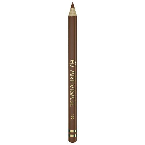ART-VISAGE Карандаш для глаз Классический, оттенок 120 темный орех