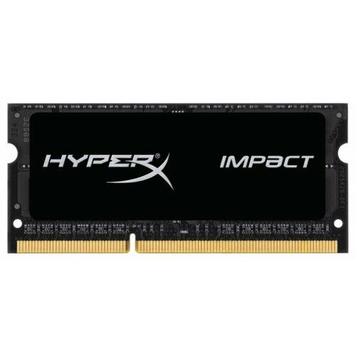 Купить Оперативная память HyperX Impact DDR3L 1866 (PC 14900) SODIMM 204 pin, 4 ГБ 1 шт. 1.35 В, CL 11, HX318LS11IB/4