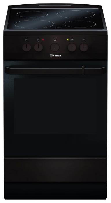 Плита Hansa FCCB54000, электрическая, brown