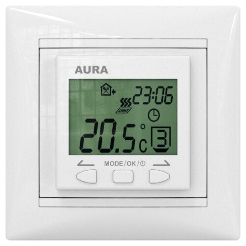 aura Терморегулятор AURA LTC 090 белый