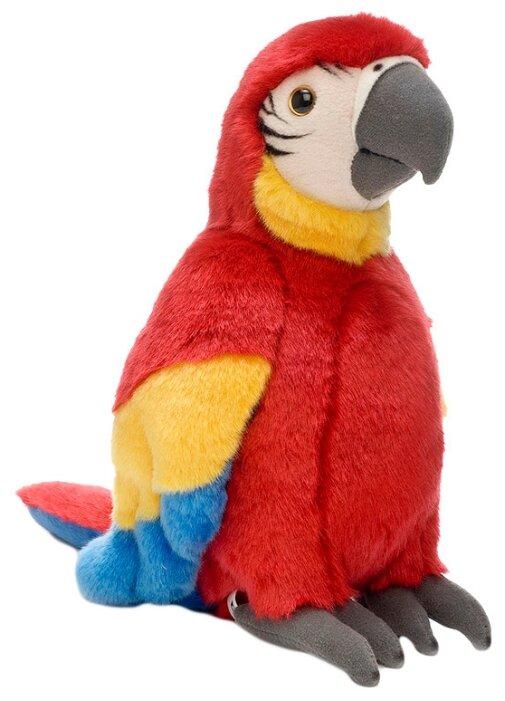 Мягкая игрушка WWF Красный попугай 18 см