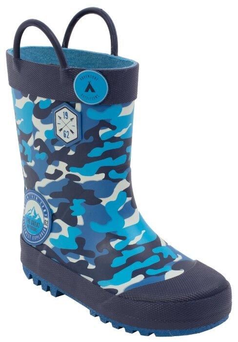 Резиновые сапоги playToday размер 30, синий/голубой
