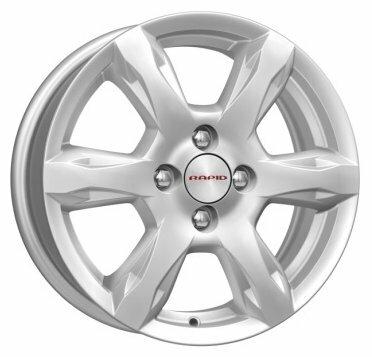 Колесный диск K&K КС693 6x15/4x100 D60.1 ET50 Сильвер