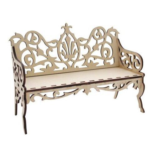 Купить Astra & Craft Деревянная заготовка для декорирования Диван резной L-488 береза, Декоративные элементы и материалы