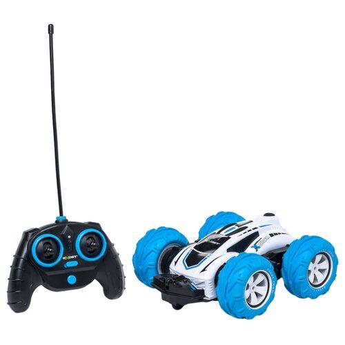 Машинка EXOST Storm (20135) 1:18 23.5 см белый/голубойРадиоуправляемые игрушки<br>