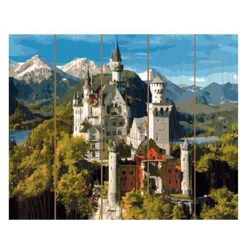 Molly Картина по номерам Замок Нойшванштайн 40х50 см (GXT23285)