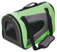 Переноска-сумка для кошек и собак GiGwi Pet Travel 75214 35х23х23 см зеленый