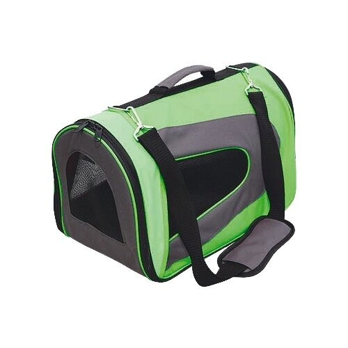 Сумка-переноска для кошек и собак GiGwi Pet Travel 75214 35х23х23 см зеленый