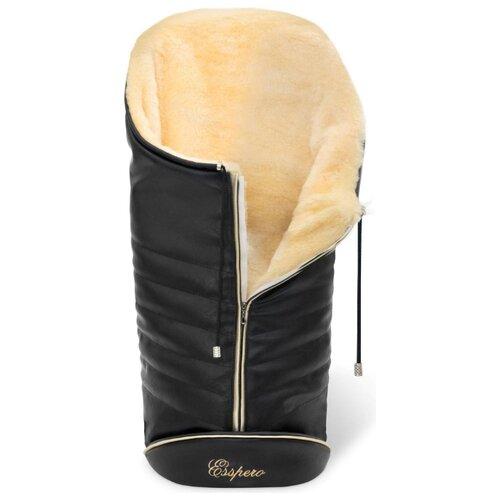 Купить Конверт-мешок Esspero Cosy Lux 90 см black, Конверты и спальные мешки